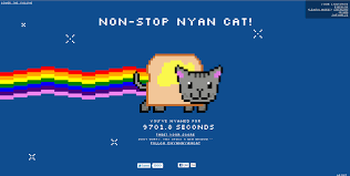 its over 9000 nyan cat by roxastsuna on deviantart