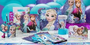frozen party frozen party supplies frozen birthday party ideas party city