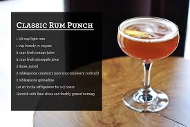 tasty thanksgiving cocktail concoction classic rum punch salt