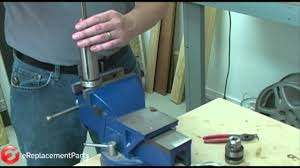 how to repair a drill press spindle youtube