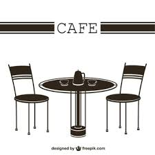 cafe table and chairs tables and chairs vectors photos and psd files free download