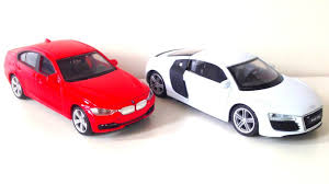 cars bmw red cars bmw and audi kids toys youtube