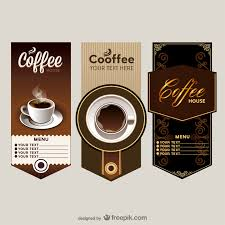 the elegant cafe menu price table vector vector free vector