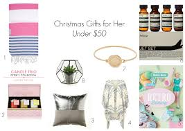 stylehunter collective christmas gifts for her under 50