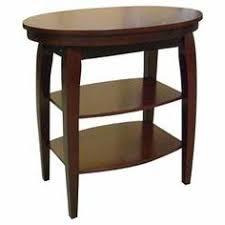 leick corner accent table shield tier corner table glazed auburn leick furniture