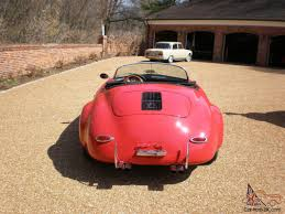 2011 porsche speedster for sale 356 wide body speedster replica