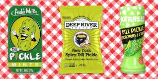 Jessica Mattern by 12 Pickle Flavored Foods Best Pickle Snacks