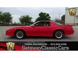 Pictures Of Pontiac Trans Am 1987 To 1989 Pontiac Firebird Trans Am For Sale On Classiccars Com