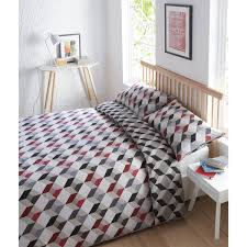 Original Duvet Covers Geometric Duvet Covers Blueprint Danuka Grey And Ivory Geometric
