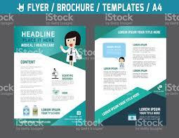 pharmacy brochure template free flyerbrochuretemplatebusiness health care stock vector more