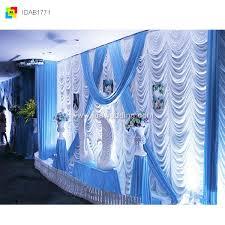 wedding backdrop blue backdrop curtain shenzhen ida decor supplies co ltd