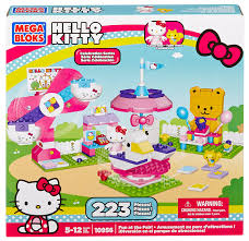 amazon mega bloks kitty fun fair toys u0026 games