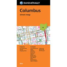 Columbus Map Map Columbus Street Map