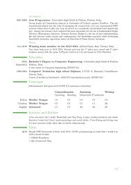 Stanford Resume Template Phd Cv Template Latex Resume Harvard Bt Thoma Saneme
