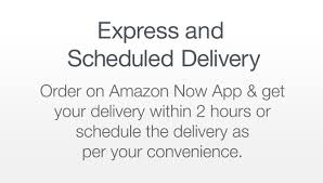 download amazon now app for 2 hours delivery of grocery household