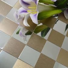 Self Adhesive Kitchen Backsplash by Aluminum Plate Adhesive Self Adhesive Mosaic Tiles For Kitchen