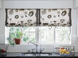 kitchen curtain ideas ceramic tile kitchen window treatments curtains design ideas white red paint