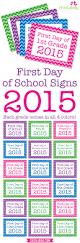 spirit halloween printable coupon 2015 free printable first day of signs 2015 chickabug
