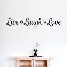 live laugh love wall decal wall quote dee cal frenzy dee cal live laugh love