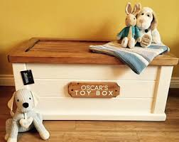 Handcrafted Wooden Toy Box by Wooden Toy Box Etsy