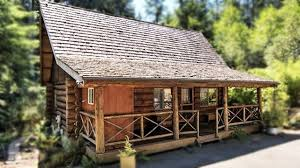 log cabin in washington state perfect small house design youtube