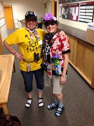 happy halloween from the tacky tourist sisters american tourists
