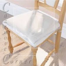 Plastic Seat Covers For Dining Room Chairs by 4pk Strong Dining Chair Protectors Clear Plastic Cushion Seat