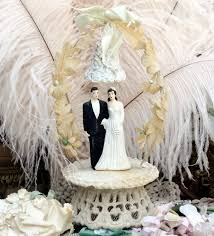 vintage wedding cake topper charming vintage wedding cake toppers mitzi s miscellany