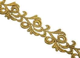 gold lace ribbon gold uk