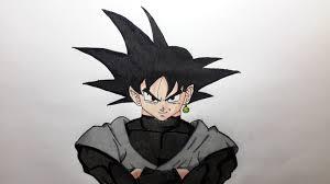 imagenes de goku para dibujar faciles con color como dibujar a goku black paso a paso el dibujante youtube