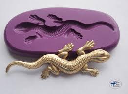 echse gecko salamander schimmel mould silikon formen