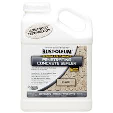 Concrete Patio Sealer Reviews by Rust Oleum 1 Gal Penetrating Concrete Sealer Case Of 2 266295