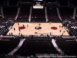 moda center section 301 seat views seatgeek