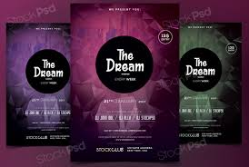 stockpsd net free psd flyers brochures and more the dream
