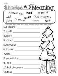 third grade reading comprehension worksheet winter third grade