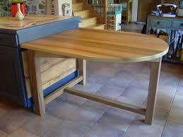 table cuisine sur mesure meuble de cuisine avec table integree maison design bahbe com