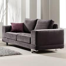 choix canapé canape 2 places gris en tissu sofamobili