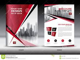free download layout company profile business brochure flyer template red cover design company profile