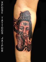 lord shiva by xpose tattoos jaipur india xpose