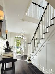 colonial home interior white colonial revival entry luxe interiors design