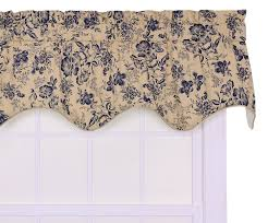 amazon com ellis curtain palmer floral toile lined duchess filler