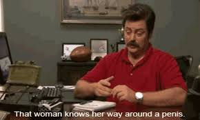 Ron Swanson Circle Desk Episode The 25 Best Ron Swanson Gifs On The Internet From Gifguide And Funny