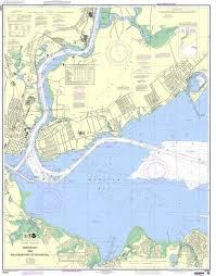 Noaa Maps Noaa Nautical Chart 12331 Raritan Bay And Southern Part Of Arthur