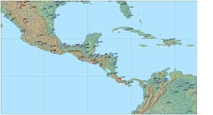Blank Map Central America by Flow Rates A Map Of The United States Illustrating Flow Rates Of