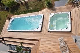 deco spa exterieur spa de nage pas cher 2017 avec piscine encastrable pas cher photo