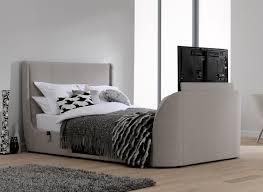 Tv Bed Frames Bedding Titanium T Tv Bed Frame Dreams Bed With Tv Built In
