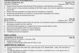 Chemist Resume Samples by Chemist Resume Examples Reentrycorps