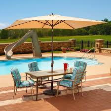 Pool Patio Furniture by Cantilever Umbrellas Patio Umbrellas The Home Depot