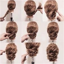 tutorial rambut 15 cara mengikat rambut panjang mudah dan simple step tutorial gambar