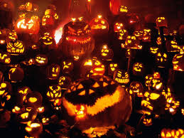 halloween scenic background pumpkin wallpaper and screensavers wallpapersafari
